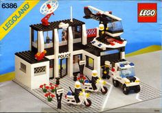 6386-1: Police Command Base | Brickset: LEGO set guide and database