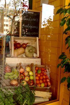 Frutas y verduras ecológicas en La Herboristería, herbolario-ecotienda desde 1979 en Benidorm