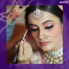 Spark in your eyes lits up your entire face, so make sure your eye makeup is on point for the D-day. Because your eyes are beautiful, Let the beholders be pleased with the eye makeup by booking the best MUA in your budget.  #askpankhuri for the best makeup artist in your budget and be a gorgeous #pankhuribride. 📸: @facestoriesbyleenabhushan  #makeup #makeupartist #makeupartists #makeupartistsindia #bridalmakeup #bridalmakeupartist #bridalmakeupandhair #bridetobe #bridetobe2020… Best Makeup Artist, Wedding Makeup Artist, Bridal Beauty, Wedding Beauty, Wedding Makeover, Makeup Trial, Beauty Makeover, Minimal Makeup, New Hair Colors