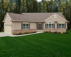 Stafford Tradition with angled garage | by Wayne Homes