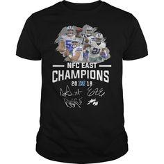 Dallas Cowboys NFC East champions 2018 character signature shirt - Shop  funny t-shirt c633e9cb3