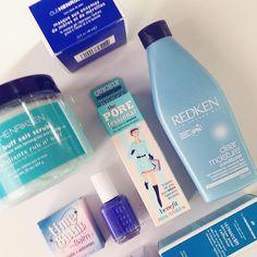 Blåmandag #iglowno #beauty #makeup #skincare #haircare #hudpleie #hår #olehenriksen #redken #essie #theBalm #benefit