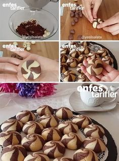 Ingredients for passion cookies Recipe 250 grams of butter (at Z … – About Healthy Desserts Biscuit Cookies, Yummy Cookies, Cake Cookies, Cupcakes, Crinkle Cookies, Cookie Recipes, Dessert Recipes, Delicious Desserts, Yummy Food