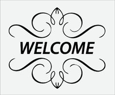 Welcome Pictures, Images, Photos Welcome Pictures, Welcome Images, Diy Signs, Wood Signs, Welcome Quotes, Welcome Font, Scrabble Words, Black & White Quotes, Greetings Images