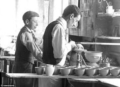 The (real) Apprentice (and his tough life at the Royal Worcester Porcelain factory in