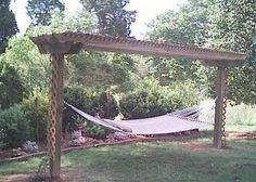 I want a hammock pergola!