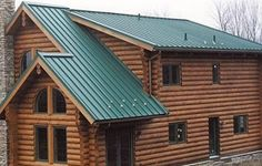 Metal Roofs On Pinterest Roof Cedar Houses And Cabin Style Homes