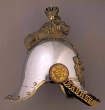 Frederik VII of Denmark's helmet