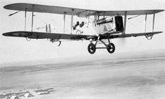 Airco DH.9 Light Bomber Biplane Aircraft