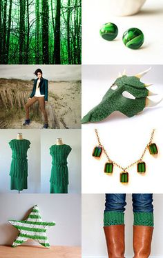 Inspired by Nature: Emerald Green
