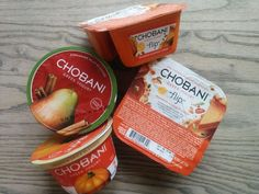 Chobani's releasing three seasonal flavors: Cinnamon Pear, Pumpkin Spice, and Pumpkin Harvest Crisp Flip, which is essentially Pumpkin Spice to the Max—pumpkin-flavored yogurt paired with pie crust pieces, glazed pumpkin seeds and crushed pecans.