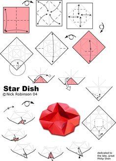 Origami Estrella Dish