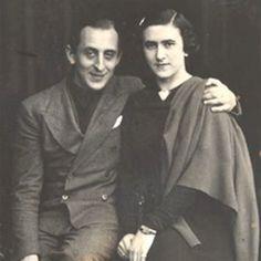 Vladimir Horowitz with Wanda Toscanini