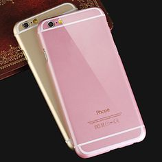 Funda Trasera - Diseño Especial - para iPhone 6 (Negro/Rosa/Oro/Plata , Metal) – EUR € 5.99