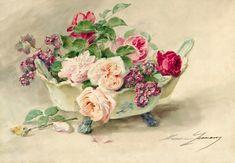 АукционноЦветочноНатюрмортное... Madeleine Jeanne Lemaire (Arles 1845-1928 Paris). Обсуждение на LiveInternet - Российский Сервис Онлайн-Дневников