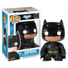 One of my favorite discoveries at WBShop.com: The Dark Knight Rises: Batman Vinyl Pop! Figure