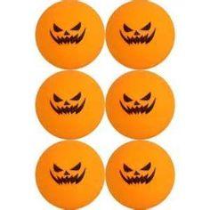 ghost and pumpkin ping pong balls yahoo image search results - Halloween Ping Pong Balls