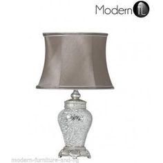 Antique Silver Regency Lamp