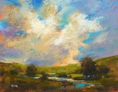Painting My World: Three Ways to Improve Your Sky and Cloud Paintings