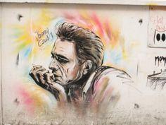 #London #streetart #JohnnyCash