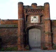 Thomas Wolsey accumulated great wealth and like to spend it on building projects. The most famous is Hampton Court Palace, but others include Wolsey's Gate at Saint Peter's Church in Ipswich
