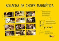 Bolacha de Chopp Magnética - Igor Oliveira // redator