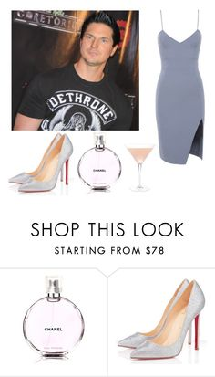"""date //"" by maddieclk ❤ liked on Polyvore featuring House of CB, Chanel and Christian Louboutin"
