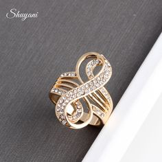 Wholesale Hot Sale Women Crystal Rings DIY Strass Infinity Ring Jewelry MR167#(Free Shipping) -  Check Best Price for. This shopping online sellers provide the best deals of finest and low cost which integrated super save shipping for Wholesale Hot Sale Women Crystal Rings DIY Strass Infinity Ring Jewelry MR167#(Free Shipping) or any product.  I hope you are very lucky To be Get Wholesale Hot Sale Women Crystal Rings DIY Strass Infinity Ring Jewelry MR167#(Free Shipping) in best price. I…