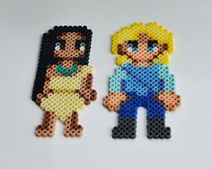 Aimants de Perler Bead Disney - Pocahontas