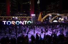 9 Things To Do In Toronto This Winter. Toronto is incredible at any time of year, but it brings a special kind of magic come winter. Here are 9 fun ways to spend the season. Toronto Winter, Toronto Canada, Canada Travel, Travel Usa, Northern Girls, Stuff To Do, Things To Do, Canada Christmas, Toronto Travel
