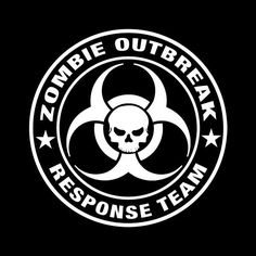 Zombie Outbreak Response Team Vinyl Decal Sticker walking dead znation 089