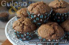 Aqui está uma delicia para adoçar a tarde!  Bora fazer Muffins Integrais de Banana e Fibra de Trigo fofinhos para o #lanche?  #Receita aqui: http://www.gulosoesaudavel.com.br/2016/05/21/muffins-integrais-banana-fibra-trigo/