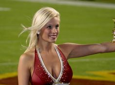 """""""The Washington Redskins Cheerleaders were the first, and continue to be the longest running """"Professional"""" National Football League cheerleading organization. Originally called the Redskinettes, they have cheered for the Washington Redskins since Se  :)"""