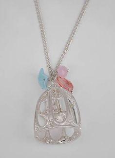 pretty bird necklace