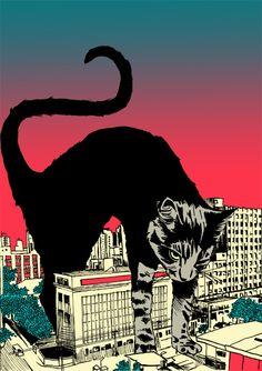 Very big cat... Gojiro!!