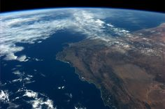 The tip of Africa.  Taken October 14, 2013.  KN from space.