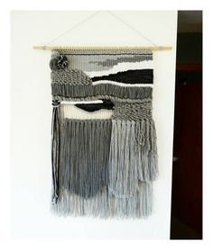 Large Handmade Woven Wall Hanging Macrame Tapestry by TheRiverHaze