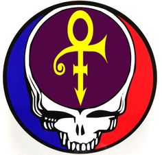 Grateful Dead Steal Your Face Prince RIP