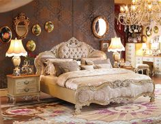 I love this whole master bedroom