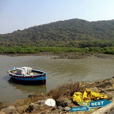#Elephanta #island #India #Mumbai #local #boat #nature #visit #explore #see #experience #South #Asia