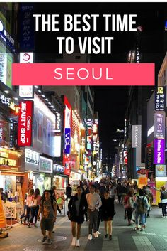 Seoul sees all four seasons, summer, spring, fall and winter. This is a real treat for Angelenos like me, who only get to see an endless summer. The winters and summers in Seoul are as long as the spring and fall are short. What is the overall best time to visit Seoul? Real on to find out!