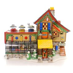 Lego Building Creation Station Christmas House