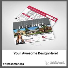 Communicate Your Brand Awesomeness™ with Custom Postcards.