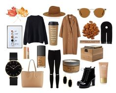 """""""Autumn atmosphere🍁☕️🍂"""" by inspratn on Polyvore featuring мода, Miss Selfridge, Burberry, WithChic, Janessa Leone, Canada Goose, Kate Spade, Axiology, NARS Cosmetics и Origins"""