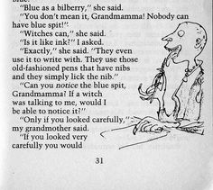 The Witches - Quentin Blake