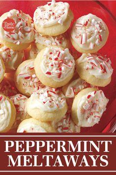 Our Top 10 Christmas Cookie Recipes - Baking Recipes Best Christmas Cookies, Christmas Sweets, Holiday Cookies, Holiday Treats, Holiday Recipes, Chistmas Cookies, Summer Cookies, Valentine Cookies, Easter Cookies