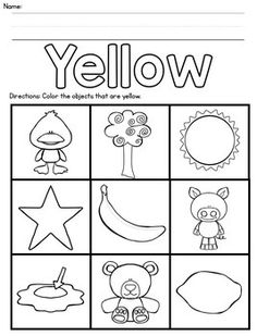 Color Recognition Activities by Precious Steps Preschool Color Worksheets For Preschool, Alphabet Tracing Worksheets, Preschool Coloring Pages, Kids Math Worksheets, Preschool Education, Preschool Teachers, Pre K Activities, Preschool Learning Activities, Preschool Lessons
