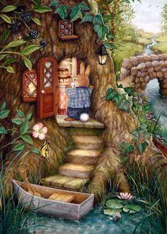 New party illustration susan wheeler Ideas Susan Wheeler, Art And Illustration, Rabbit Illustration, Lapin Art, Bunny Art, Woodland Creatures, Beatrix Potter, Whimsical Art, Cute Art