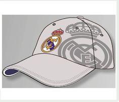 GORRA REAL MADRID GRIS ESCUDO  Este artículo lo encontrará en nuestra tienda on line de complementos www.worldmagic.es info@worldmagic.es 951381126 Para lo que necesites a su disposición