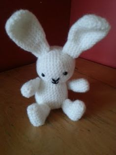 Crochet Rabbit Ami (includes link to free pattern)